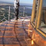 copper sheet roof